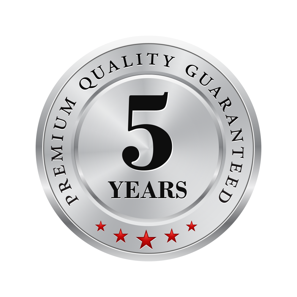 5 Year Driveway Guarantee